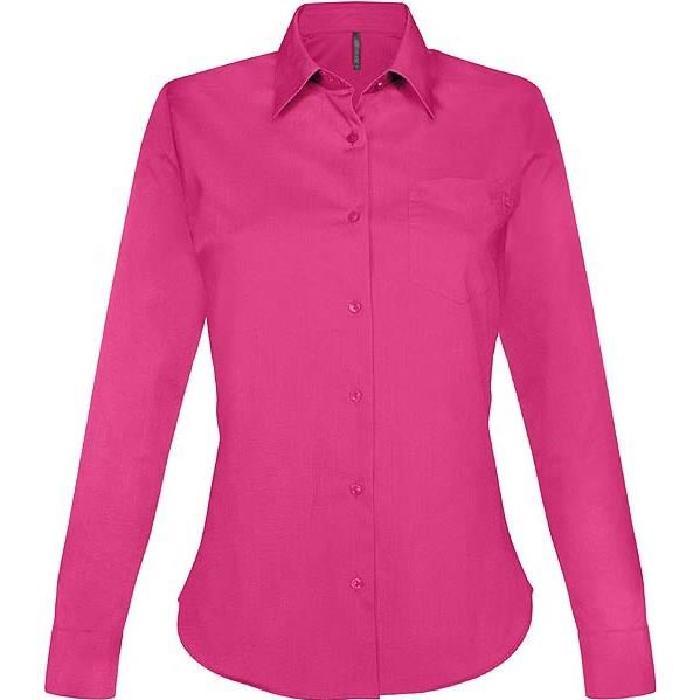 Chemise rose femme fushia