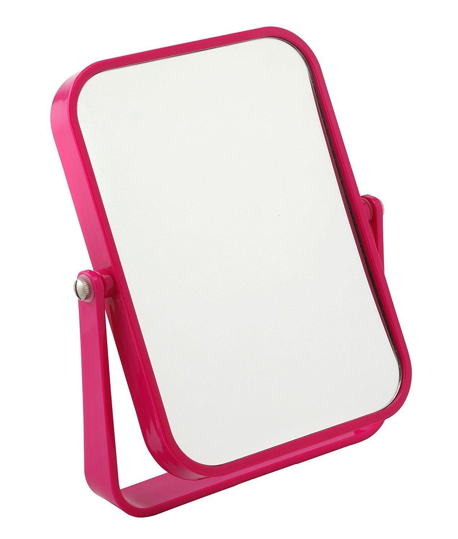 miroir de maquillage rose la beaut port e de main cadeaux rose. Black Bedroom Furniture Sets. Home Design Ideas