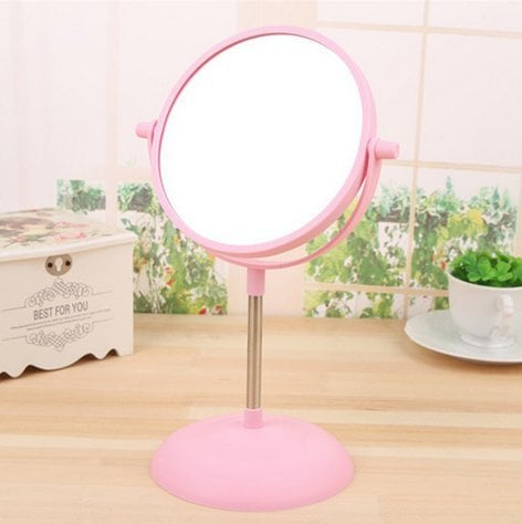 Miroir de maquillage rose bluelover