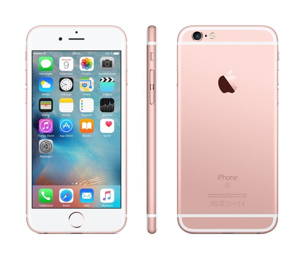 iphone rose 6s et 6s plus meilleur prix