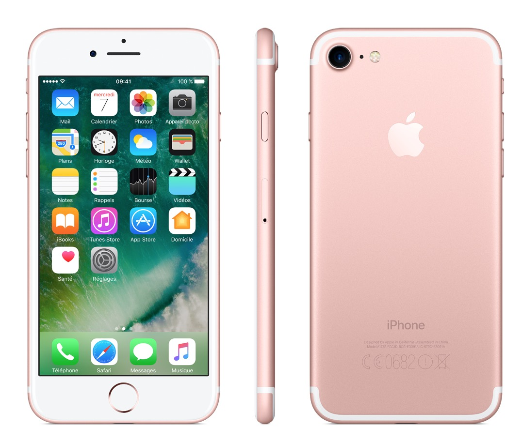 iphone rose 7