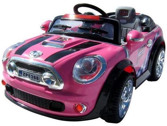 mini cooper rose jouet