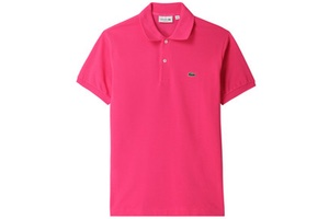 polo rose fuchsia lacoste