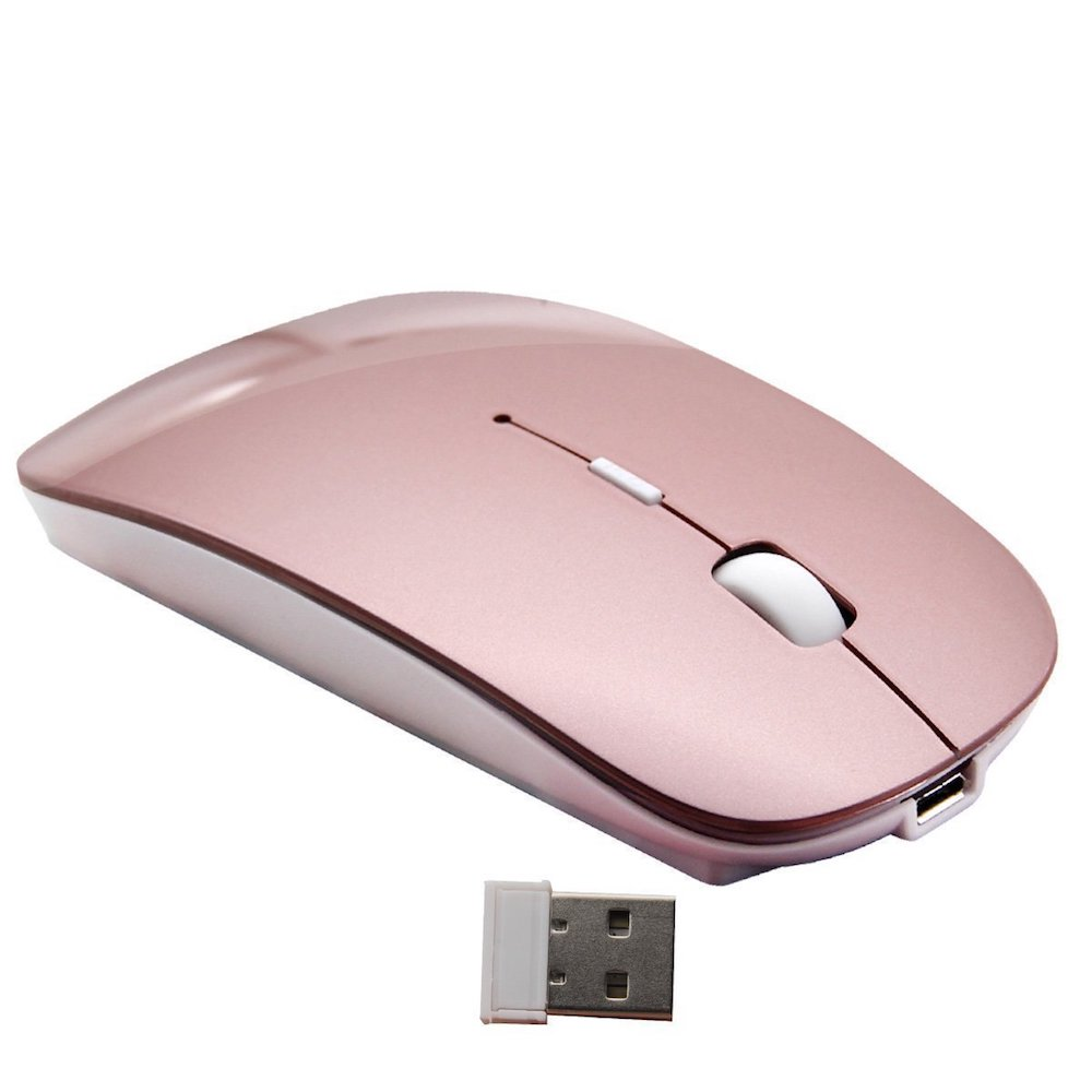 souris rose bluetooth mac pc