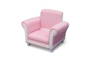 fauteuil rose enfant