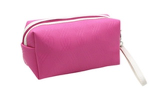trousse de maquillage rose fuchsia