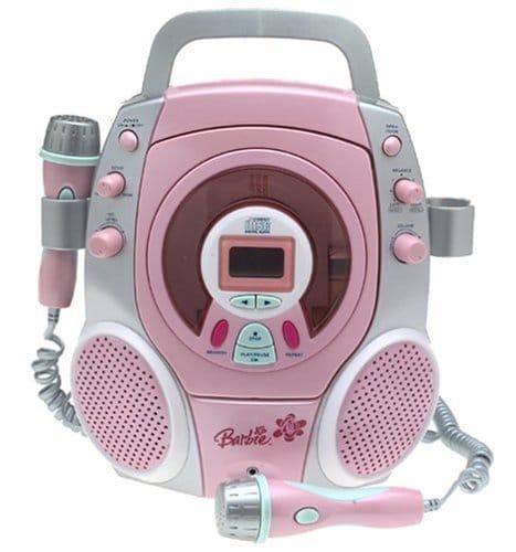 Lecteur Karaoke rose Barbie