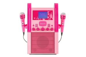 Lecteur Karaoke rose enfant