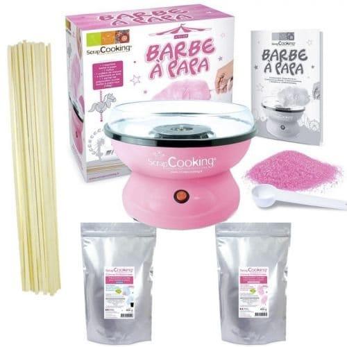 Machine a Barbe a Papa rose kit preparation