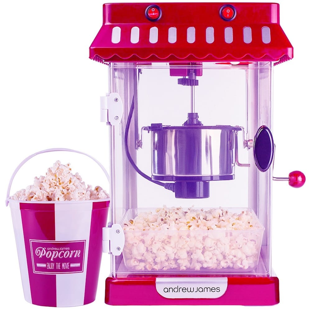 Machine a pop-corn rose andrew james