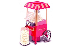 Machine a pop-corn rose