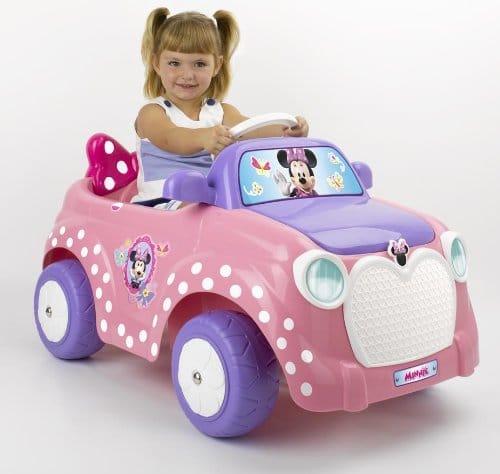 Petites voitures electriques rose jouet feber