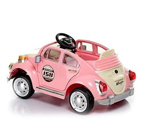 Petites voitures electriques rose new Beetle