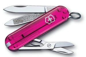 couteaux rose de qualite