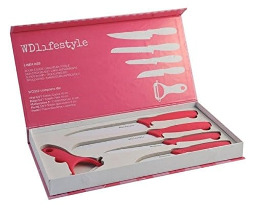 couteaux rose cuisine