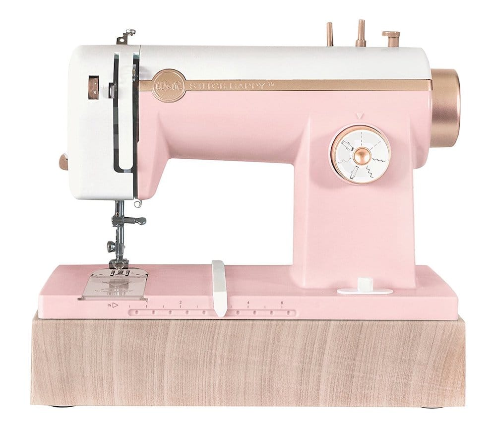 machine a coudre rose Stitch