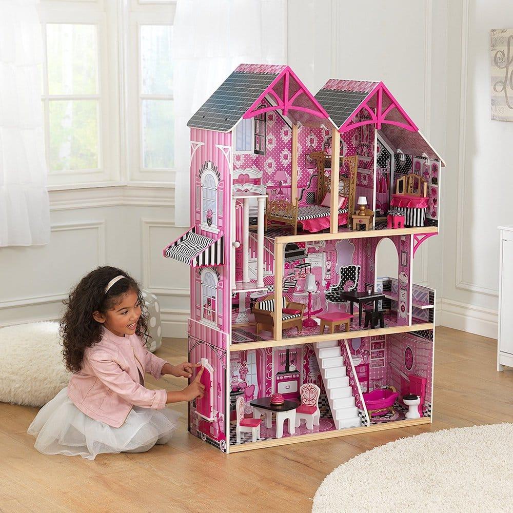 Maison de poupees rose Bella