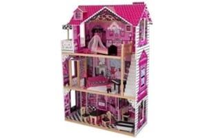 Maison de poupees rose fille