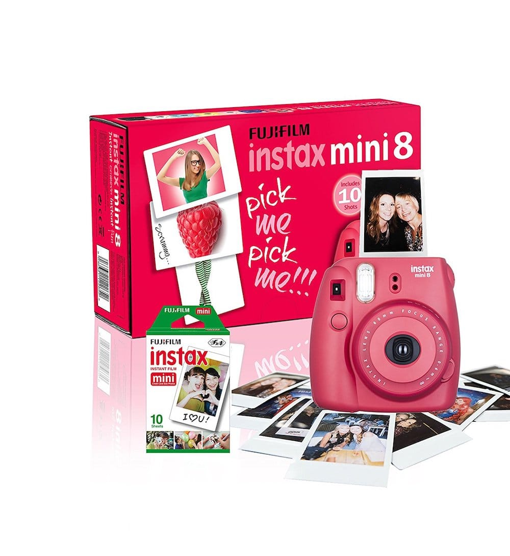 appareil photo rose instax mini