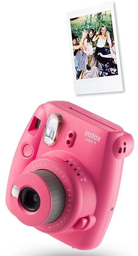 appareil photo rose mini pink