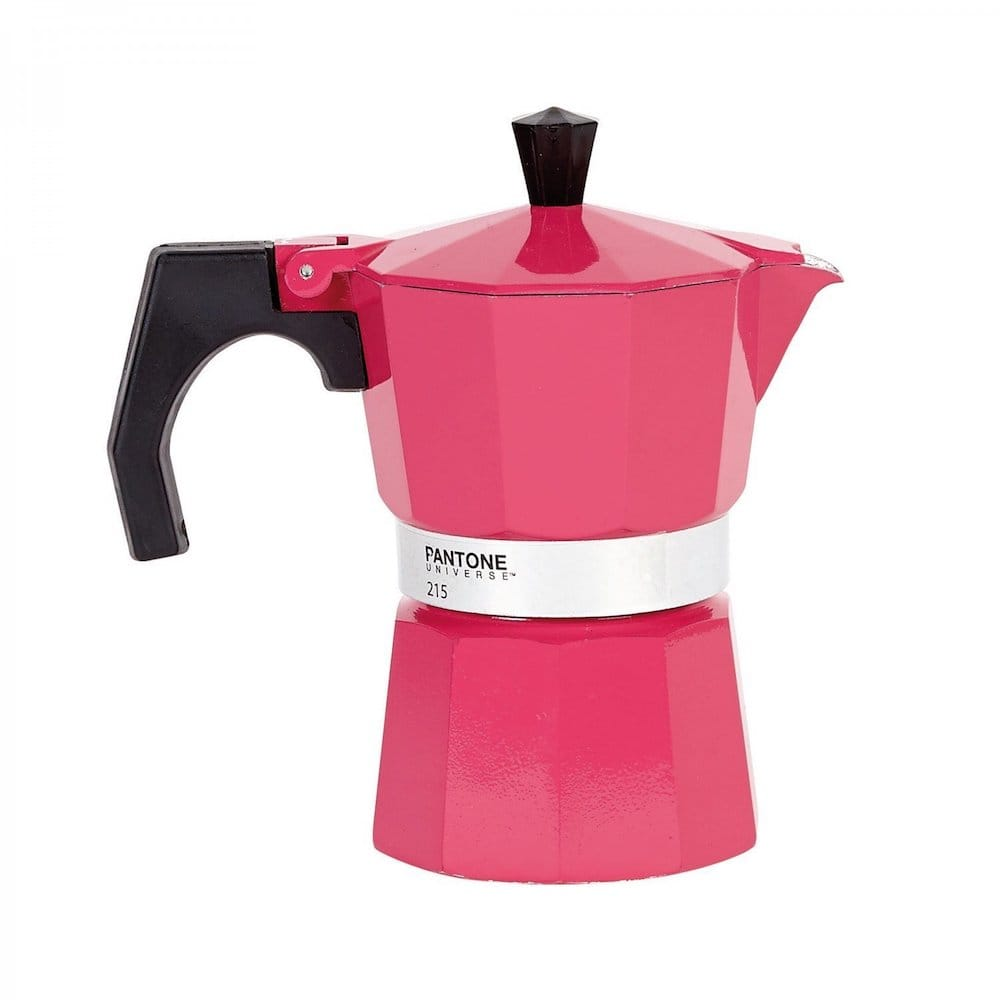 cafetiere rose Pantone