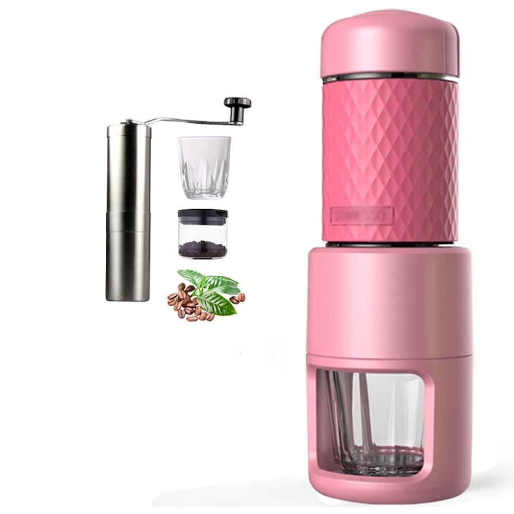 cafetiere rose machine a cafe