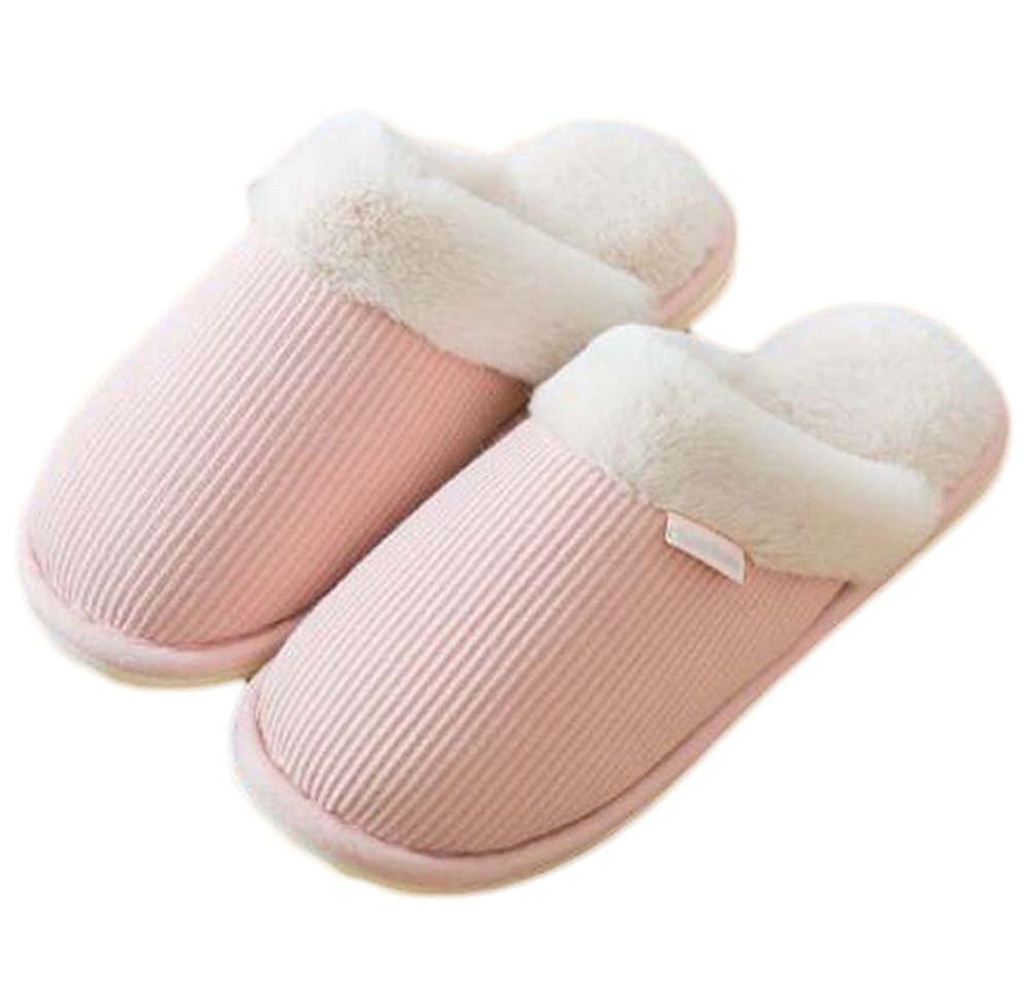 chaussons rose classiques