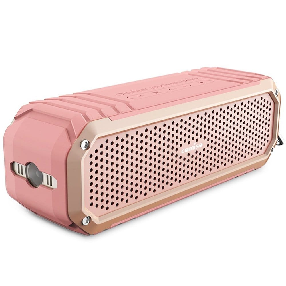 enceinte bluetooth rose Comiso