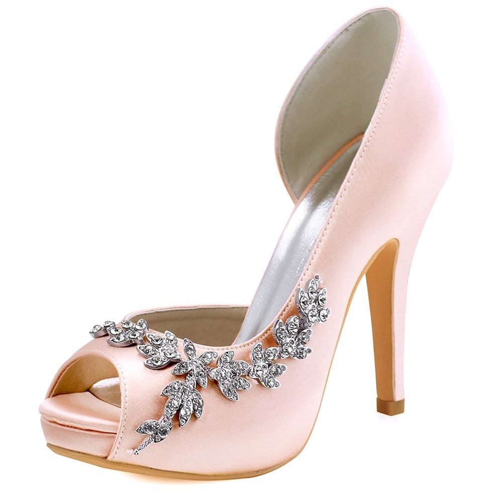 escarpins rose elegance