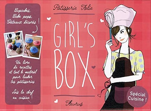 livre de patisserie folie girl box