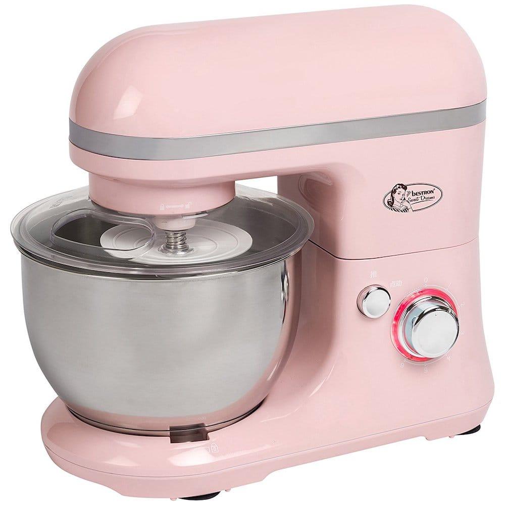 robot de cuisine rose puissant
