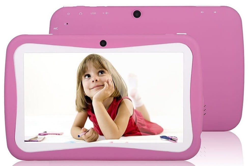tablette enfant rose 7 pouces