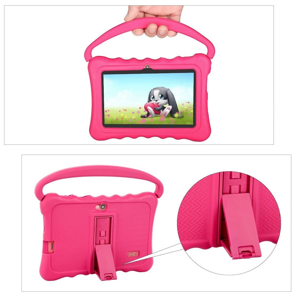 tablette enfant rose