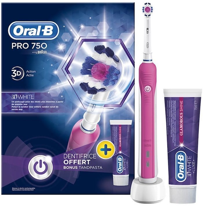 Brosse a dents rose Oral B