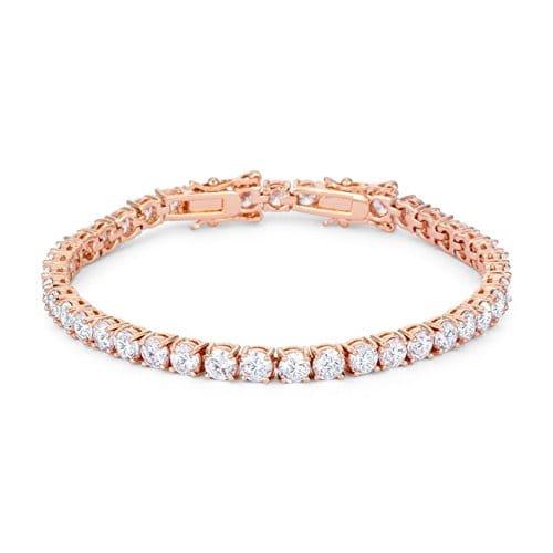 bracelet rose Oxyde de Zirconium