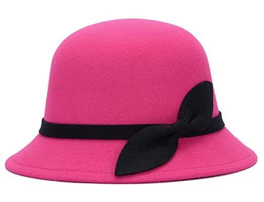 chapeau femme rose chapeau rose melon