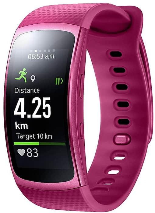 montre connectee rose Samsung
