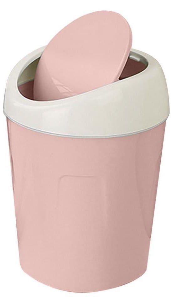 poubelle rose bureau