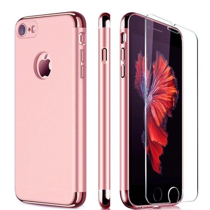 Coque pour iPhone rose 8 7 6
