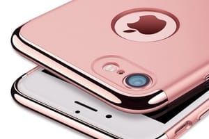 Coque pour iPhone rose originale