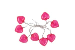 Guirlande lumineuse rose saint valentin