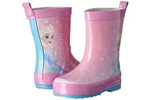 bottes de pluie rose la reine des neiges
