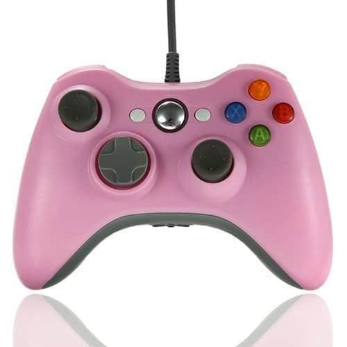 manette de jeu rose XBox
