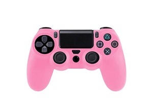manette de jeu rose playstation