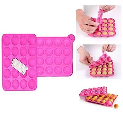 moules à gâteau en silicone Pops