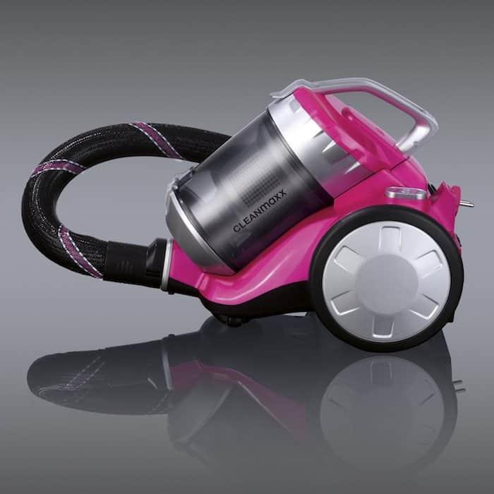 aspirateur rose cyclonique