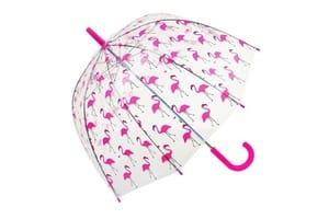 parapluie rose femme enfant