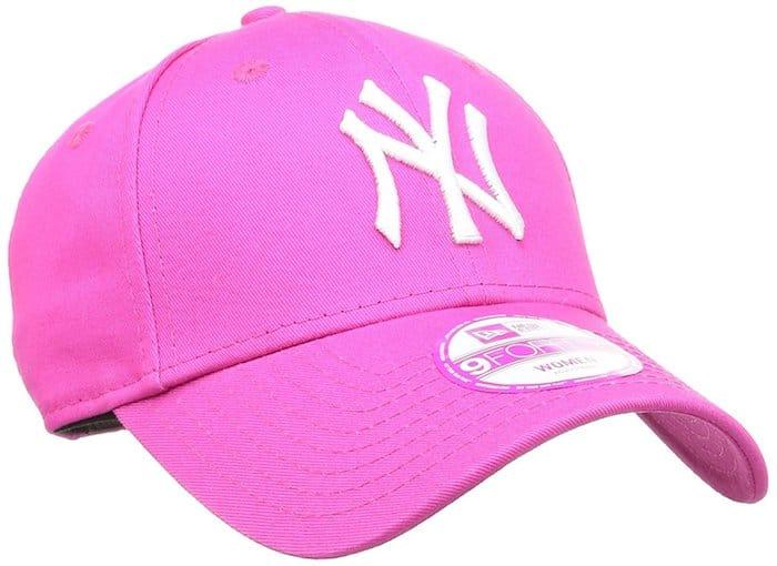 casquette rose baseball