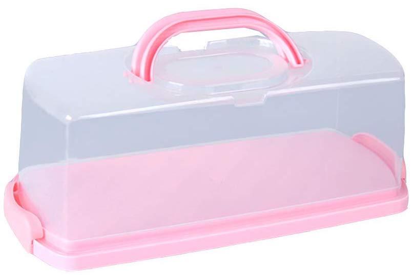boite a pain rose en plastique